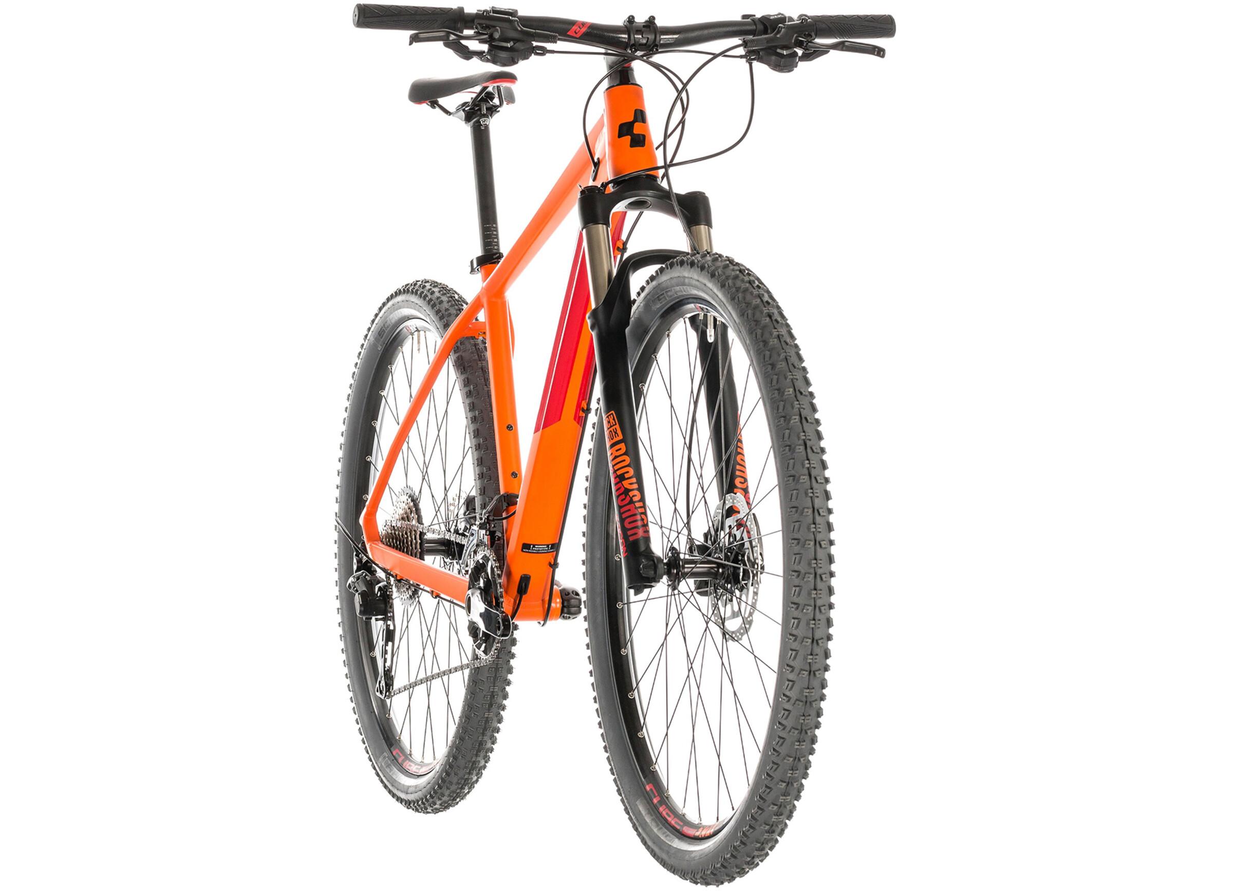 30acdaf9f68 Cube Reaction Pro MTB Hardtail orange at Bikester.co.uk